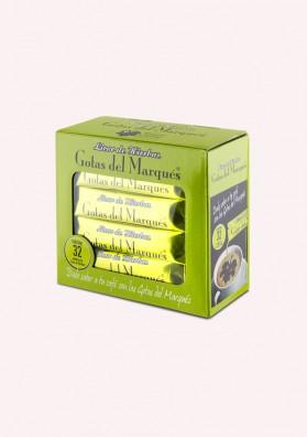 Licor de Hierbas - Gotas del Marqués - caja de 32 monodosis 0.230L