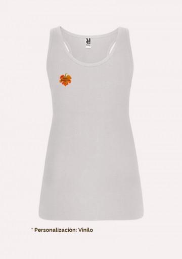 Camiseta blanca sisas - Personalizada en vinilo