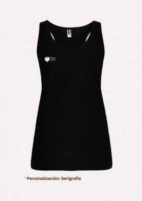 Camiseta negra sisas - Personalizada en serigrafía