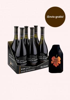 Pack Torre La Moreira - (1 caja de Torre La Moreira 0,75l y un enfriador)